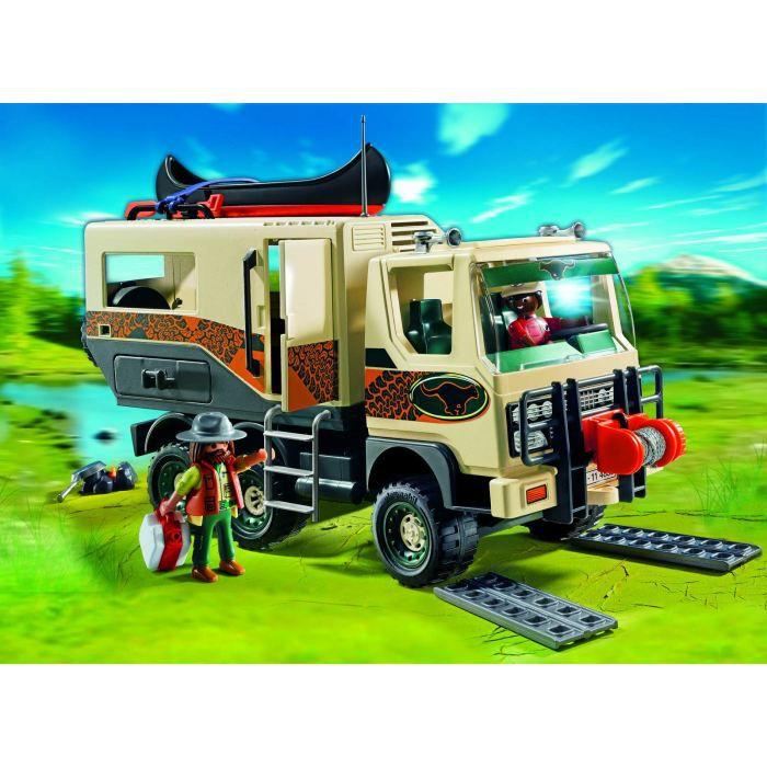 playmobil 4839 camion des aventuriers achat vente voiture camion cdiscount. Black Bedroom Furniture Sets. Home Design Ideas