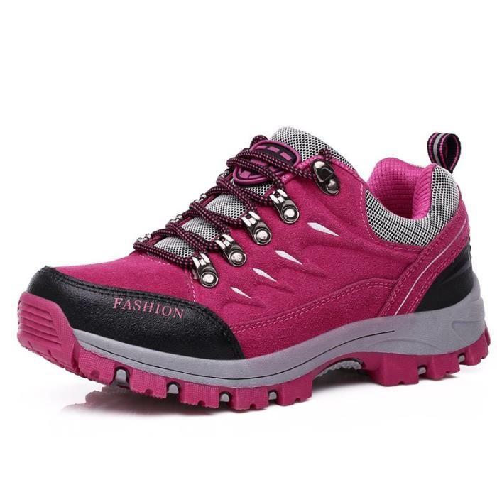 SHOE20171010002-pink-39-roseBottes d'hiver de randonnée chaud