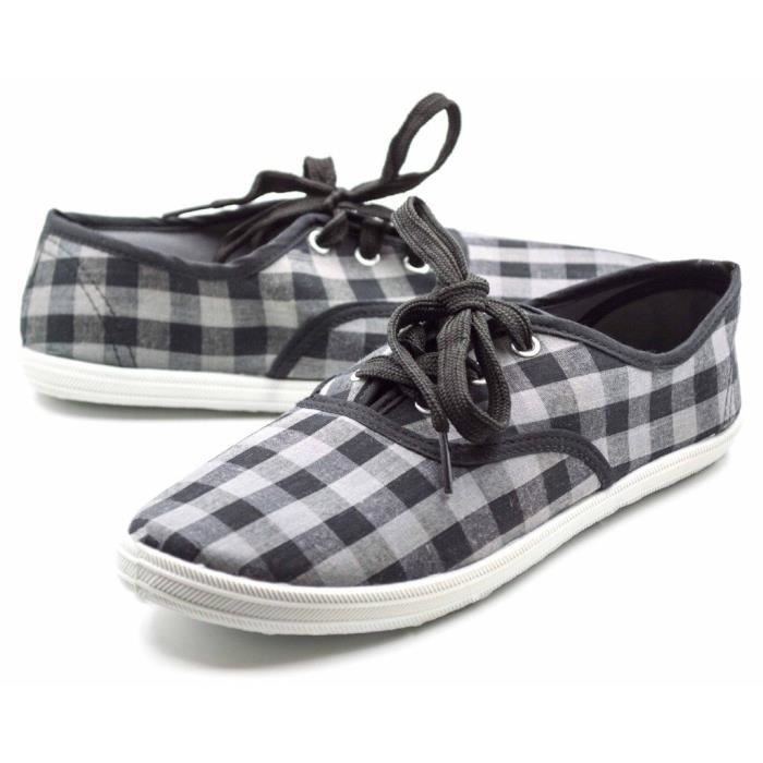 Lace up canvas sneakers GG9TF Taille-38