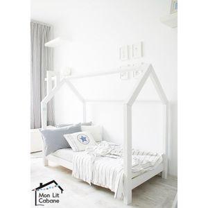lit cabane achat vente lit cabane pas cher soldes d s le 10 janvier cdiscount. Black Bedroom Furniture Sets. Home Design Ideas