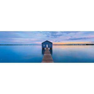 PUZZLE Puzzle 1000 pièces panoramique : Calme bleu aille