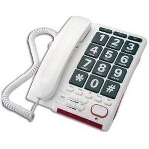 Téléphone fixe Téléphone professionnel, prise de ligne sans décro