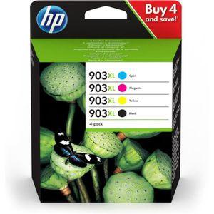 CARTOUCHE IMPRIMANTE HP 903XL Pack de 4 à rendement élevé noir, jaune,
