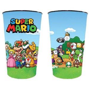 Verre à eau - Soda Gobelet PVC Nintendo : Super Mario