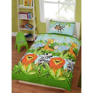 housse de couette enfant animaux achat vente housse de couette enfant animaux pas cher. Black Bedroom Furniture Sets. Home Design Ideas