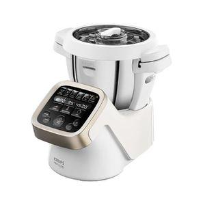 ROBOT DE CUISINE Krups HP 5031, 4,5 L, Gris, Acier inoxydable, Blan