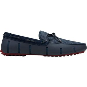 MOCASSIN Swims Braided Lace Lux Loafer Driver Slip On Shoes