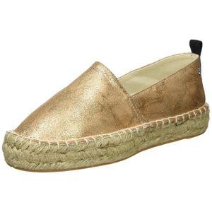 ESPADRILLE Xti Nu Chaussures métalliques dames. Les Espadrill