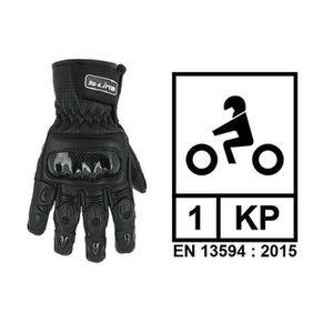 CASQUE MOTO SCOOTER Gants en Cuir Route XL S-Line - Moto Accessoires P