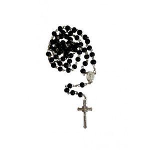 CHAPELET Chapelet perle en bois noire
