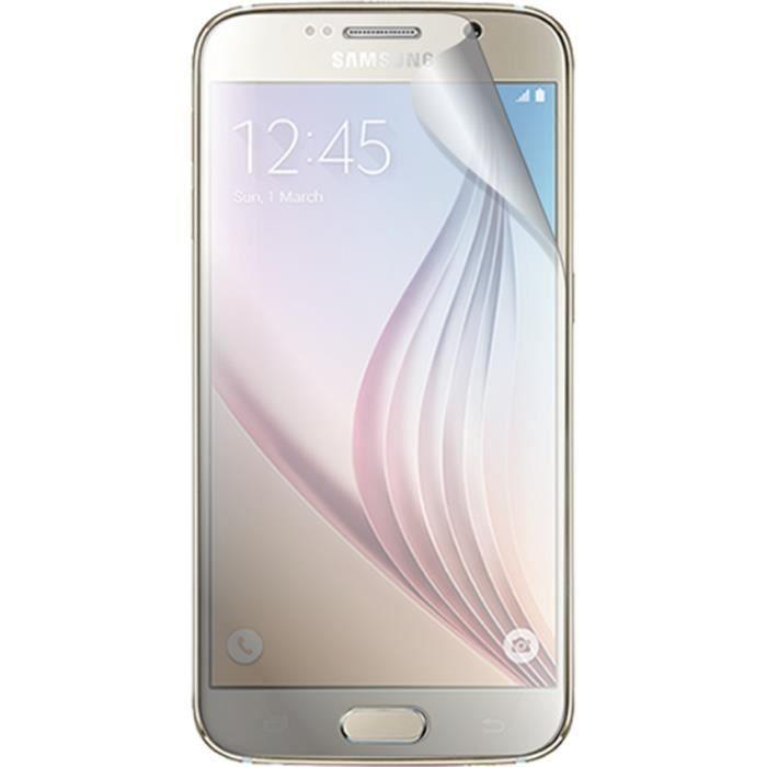 BIGBEN Lot de 2 protèges-écran pour Samsung Galaxy S6 G920 - Transparent