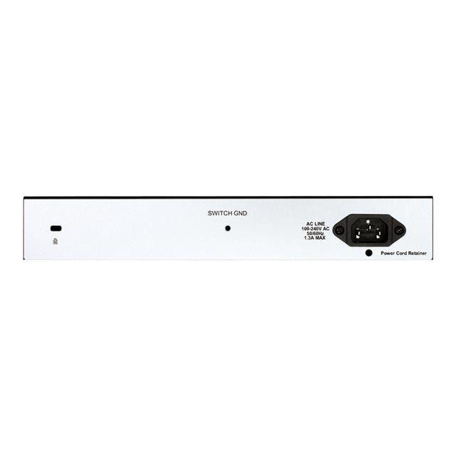 D-LINK Switch Smart+ 8 ports - DGS-1210-10P - 10/100/1000Mbps PŒ/PŒ+  + 2 ports SFP