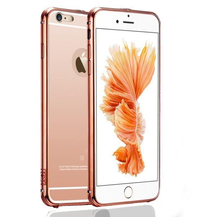 coque iphone 6 rose or