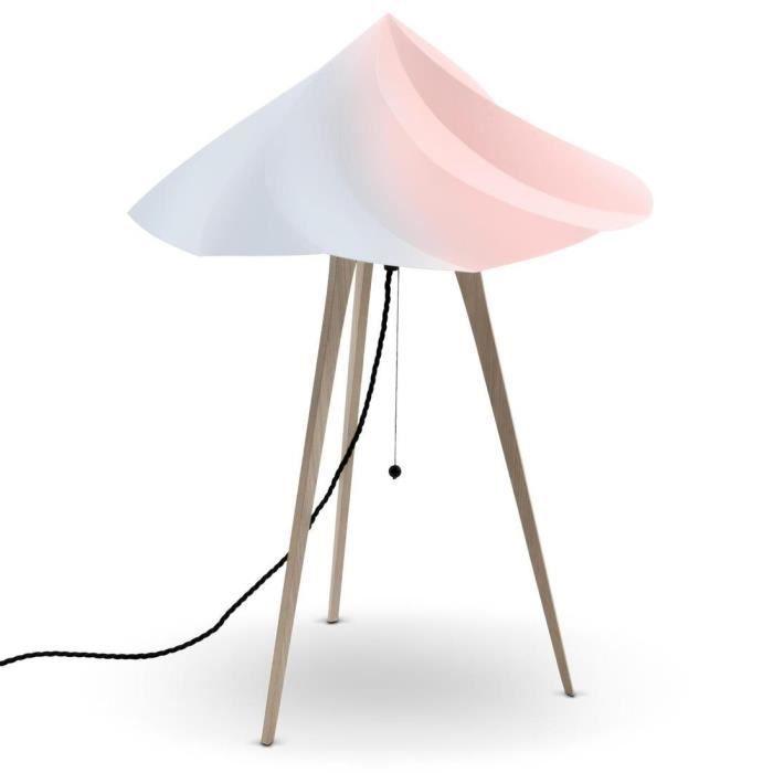 Lampe Par Bois Guisset Multicolore Chantilly À H65cm Constance MoustacheDesigné Trépied Poser 9IWE2DH