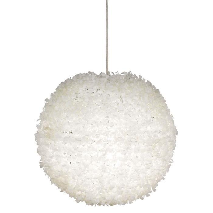 Suspension extravagante E27 lustre blanc chambre à coucher luminaire plafond
