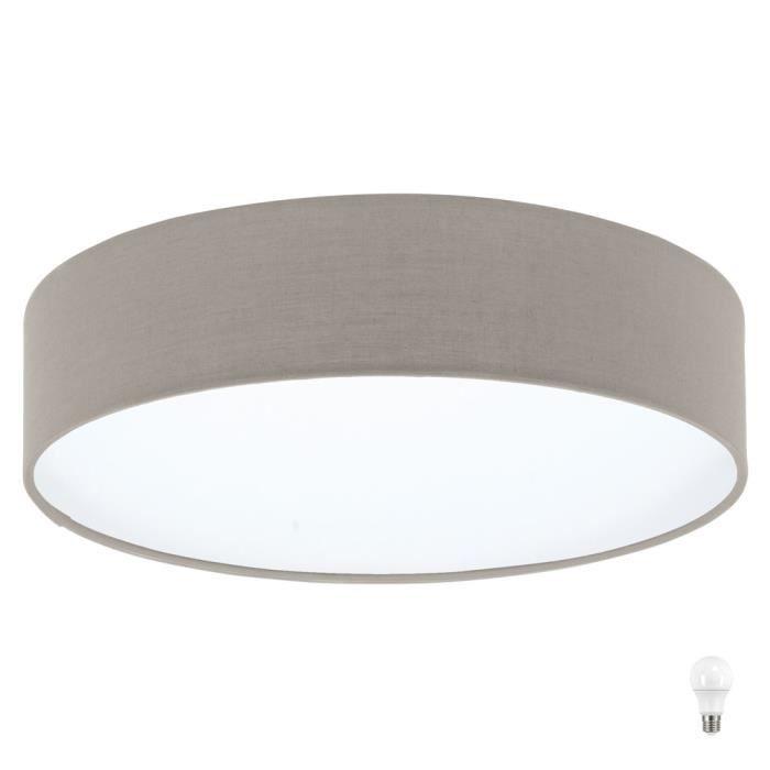 Plafonnier Salon Ronde Éclairage Coucher Lampe À Chambre Luminaire eDHIWYE2b9