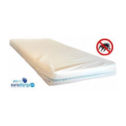 housse anti acariens pour matelas 90 x 200 x 15 cm en tissu