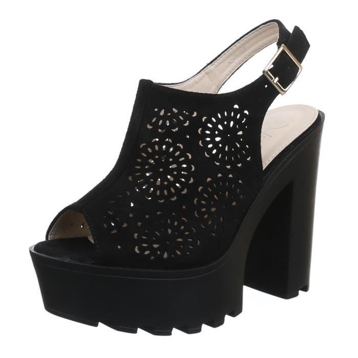 Chaussures femmes sandales Talon haut Escarpins