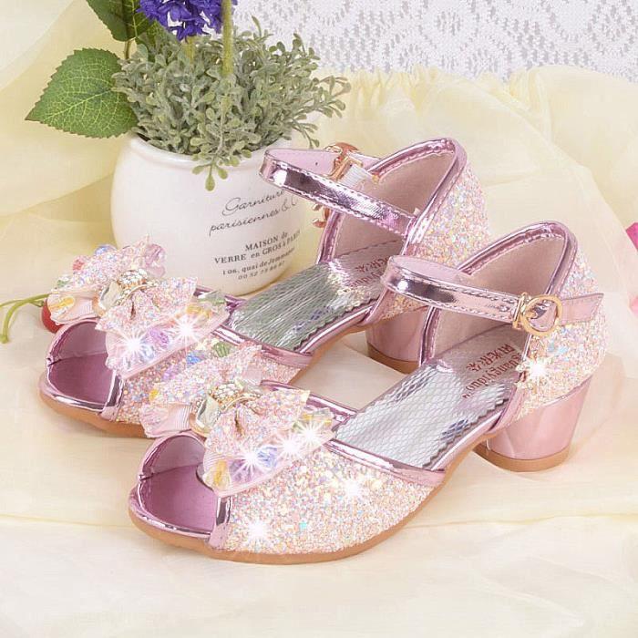fef530e81b814 Enfant Sandales Bébé fille Noeud papillon Chaussures pour enfants ...
