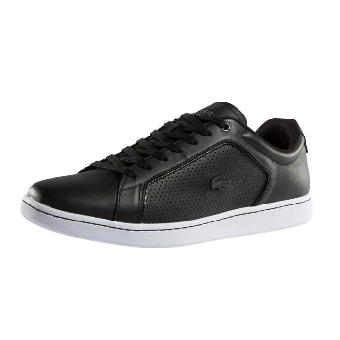 Chaussures Lacoste 10 Noir Homme Spm Baskets Carnaby 317 Evo hrdsQxtC