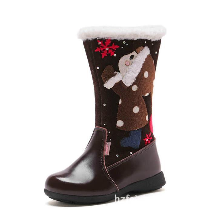 Bottes de neige confortables pour fille d'hiver o1blSPP
