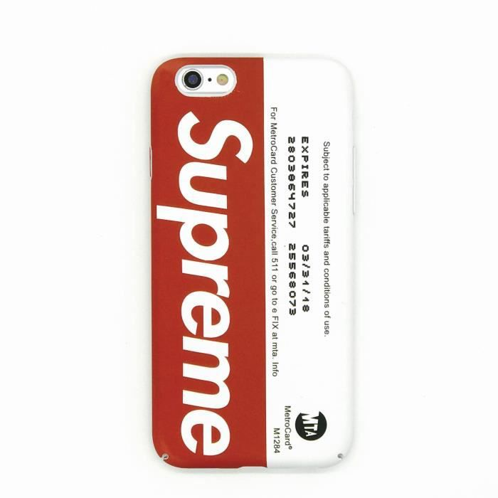 coque supreme iphone 6 plus