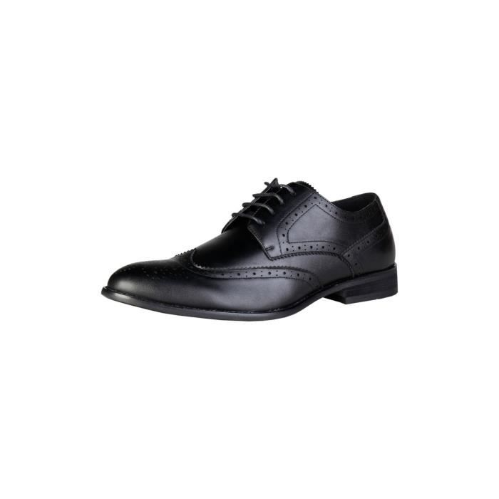 Pierre Cardin - Chaussures derby bout fleuri - Noir P,46