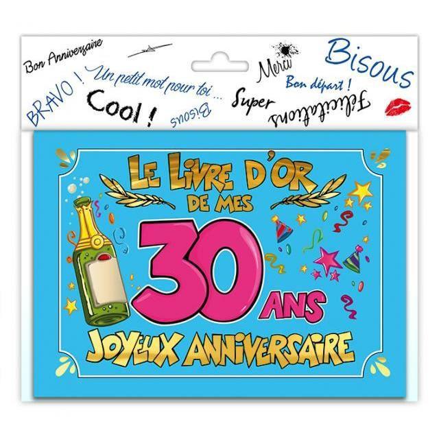 Gut bekannt Carte anniversaire 30 ans - Achat / Vente Carte anniversaire 30  IJ37