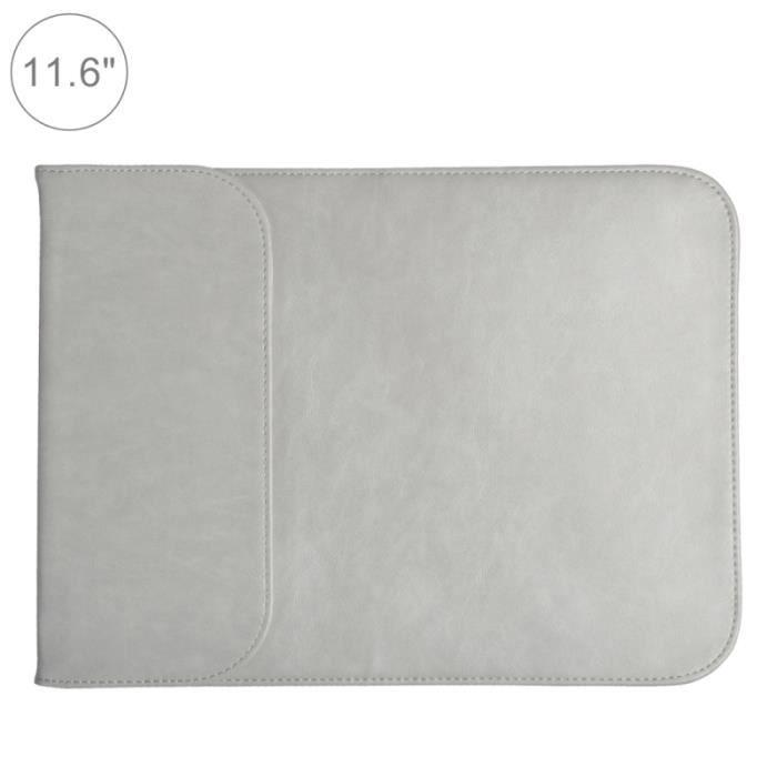 e3de604a31 SACOCHE INFORMATIQUE Sacoche ordinateur 11.6 pouces PU + sac en nylon p. Sacoche  ordinateur 11.6 pouces PU + sac en nylon pour portable pochette ...