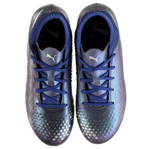 new concept 2c37e 04229 ... CHAUSSURES DE FOOTBALL Puma One 4 Chaussures De Football Pour Sol Dur  Enf ...