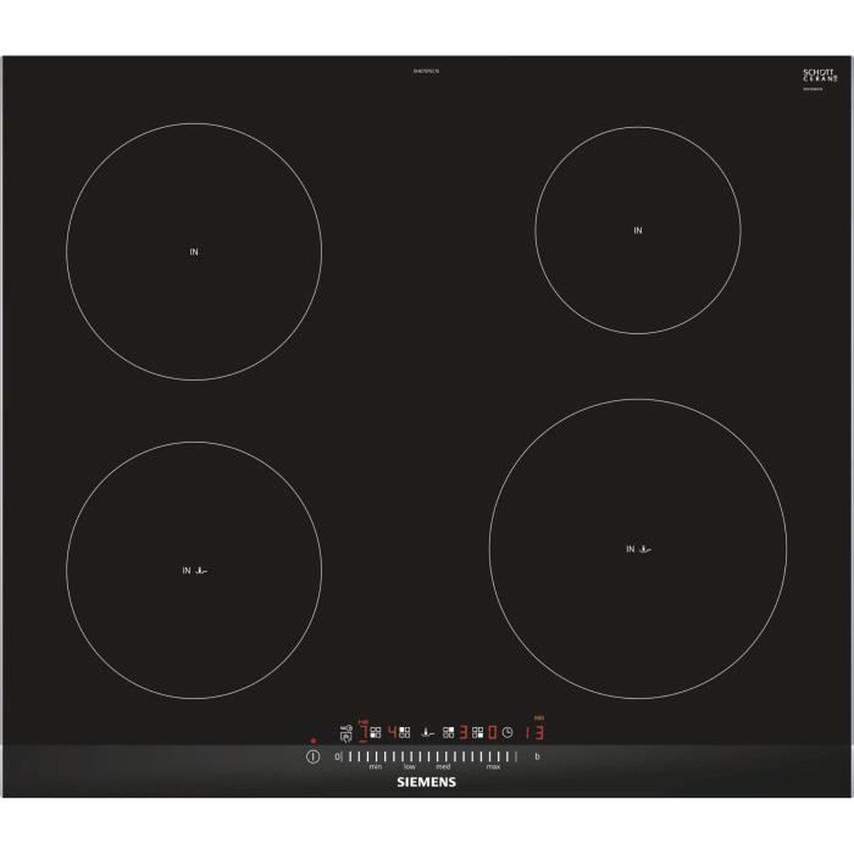 PLAQUE MIXTE Siemens Table de cuisson vitrocéramique à inductio