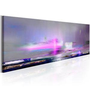 TABLEAU - TOILE Tableau  |  Purple Sea | 150x50 | XL |  Paysages