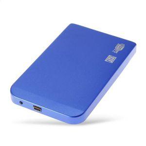 BOITIER POUR COMPOSANT Boîtier de disque externe Slim 2.5 & Quot USB 2.0