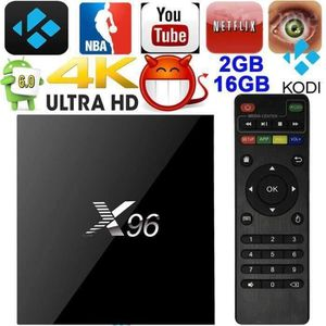 Android tv box x96 - Achat / Vente pas cher