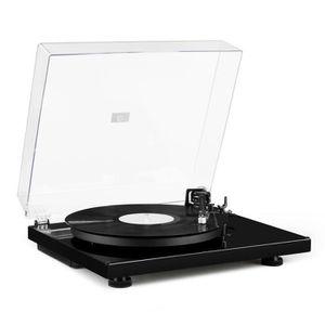PLATINE VINYLE auna TT-Massive Platine vinyle - Toune-disque 2 vi
