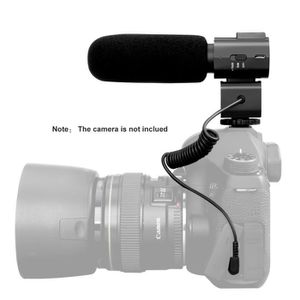 MICROPHONE EXTERNE Craphy Microphone Caméra VideoMic Micro 50Hz-16KHz