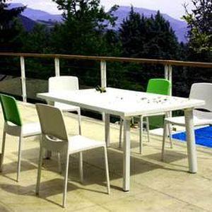 Salon Floris compact Blanc laque 4 personnes - Achat / Vente salon ...