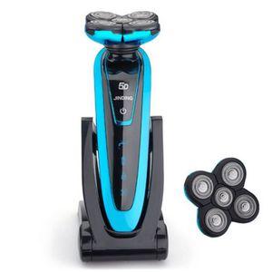 RASOIR ÉLECTRIQUE JINDING rechargeable rasoir électrique rasage élec