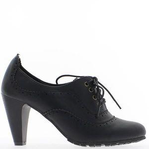 Chaussures richelieu femme talon - Achat   Vente pas cher 0a4e99b78dfd