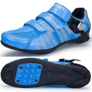 CHAUSSURES DE VÉLO XBootsMalone® Chaussures vélo de route - Bleu (Poi