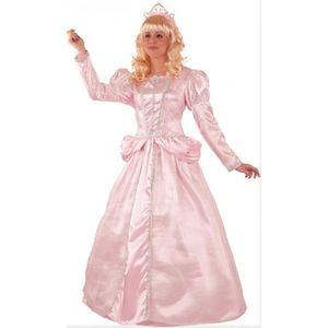 DÉGUISEMENT - PANOPLIE Déguisement Princesse Rose Femme