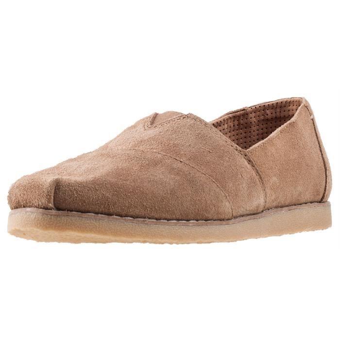 Toms Alpargata Crepe Femmes Chaussures sans lacets Caramel au beurre - 6 UK