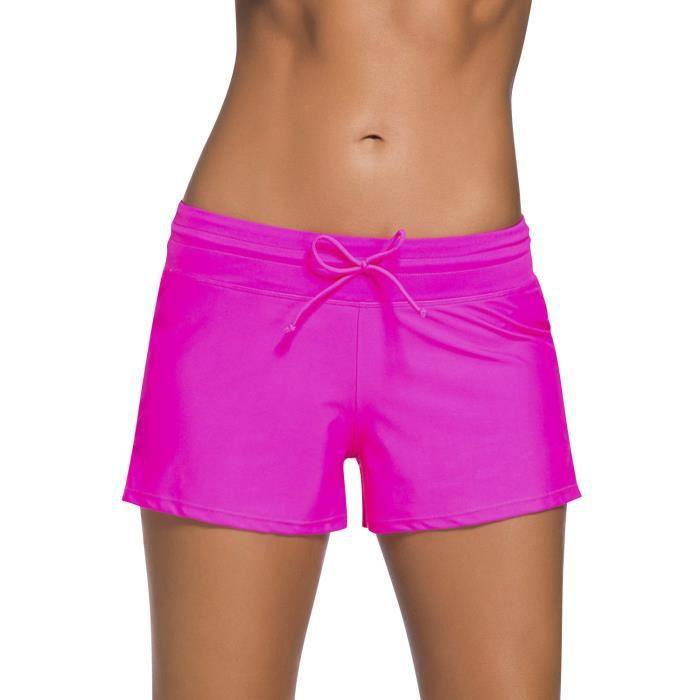 d997d1e26e shorts dolaswim pour femmes, maillots de bain pour filles courtes avec  cordon de serrage ajustable mini bikini 1DNO1V Taille-34