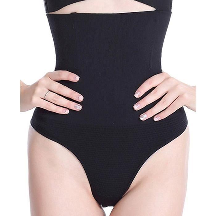 MISS MOLY Femme Culotte Sculptante String Gainante Ventre Plat Amincissante  Taille Haute Panty 45c6af0fbdc