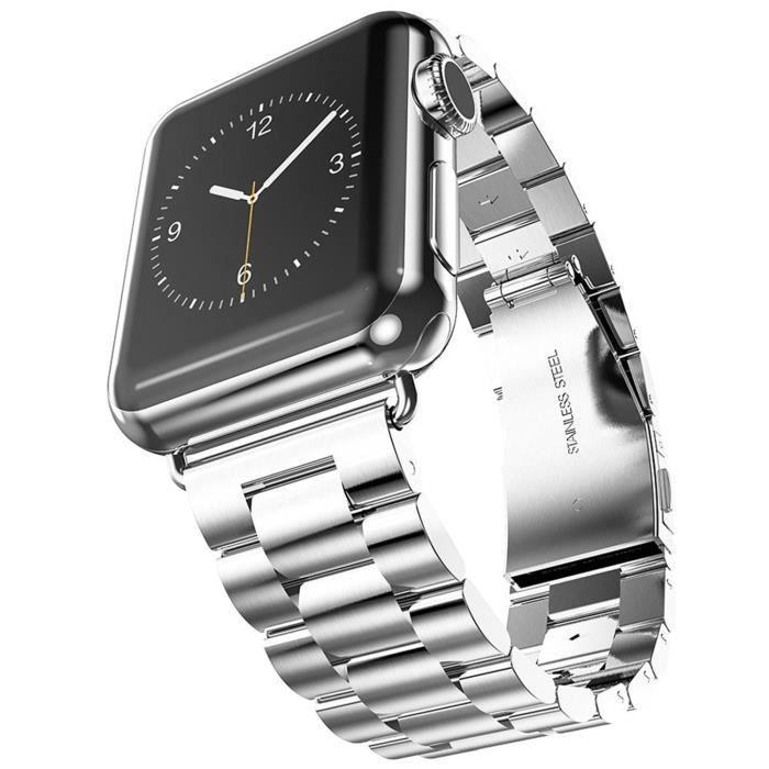 montre connectee avec bracelet metal - achat / vente montre