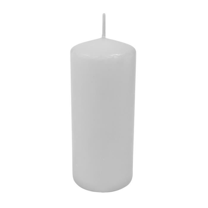 Bougie Cylindrique Blanche