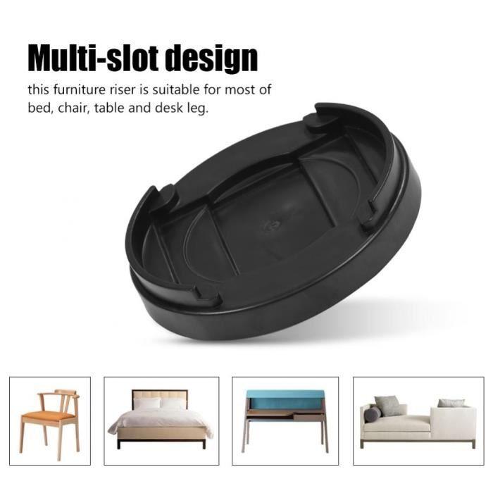 Zerone /Él/évateurs de Lit 4Pcs Support de Pieds de Meuble en Imitation de Porcelaine pour Lit Canap/é Bureau Table Chaise Armoire