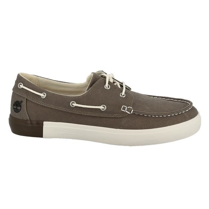 Chaussures bateau - TIMBERLAND NEWPORT BAY 44 Taupe