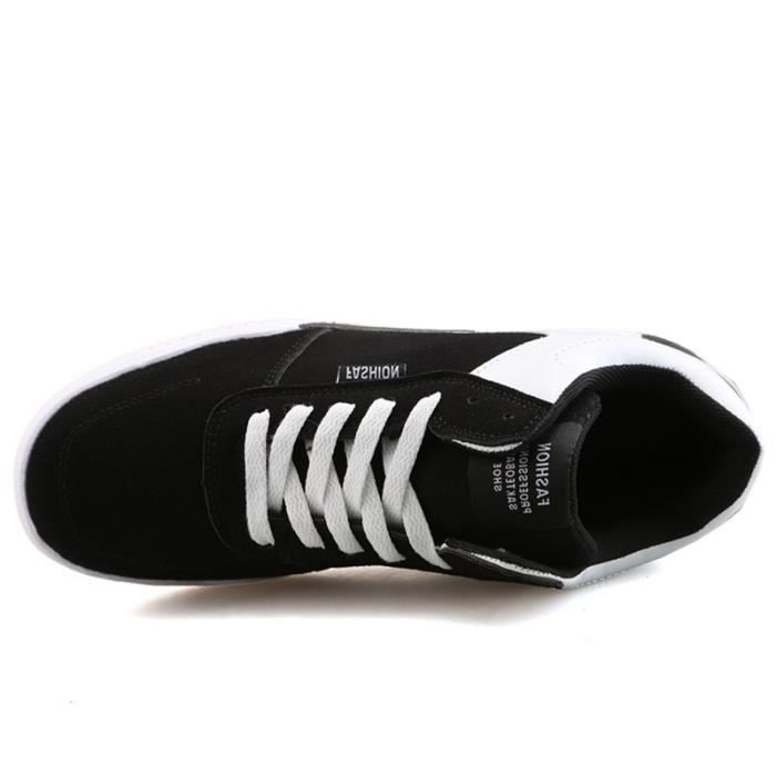 Chaussures De Sport Pour Femme en daim Textile De Course Populaire LLT-XZ127Blanc36