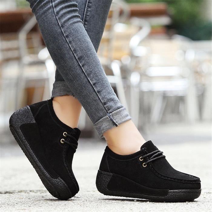 Meilleure Simple Sneakers rose Léger Gris Chaud Confortable Hiver Femme Classique jaune noir Chaussure Doux Sneaker Au Antidérapant Qualité Garde OCx5t5nTq6